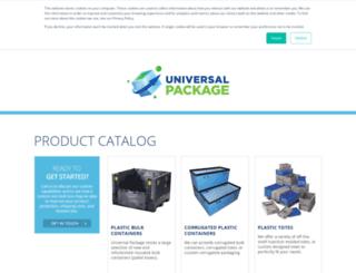 onlinecatalog.universalpackage.com screenshot