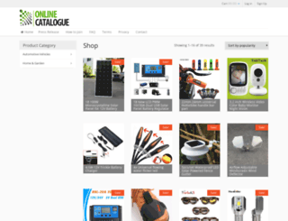 onlinecatalogue.co.za screenshot