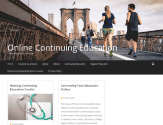 onlinecontinuingeducationcourses.net screenshot