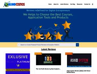 onlinecosmos.com screenshot