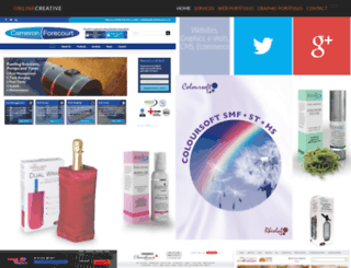 onlinecreative.co.uk screenshot