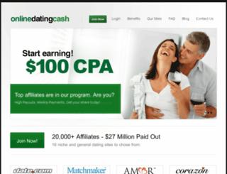 onlinedatingcash.com screenshot