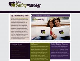 onlinedatingmatches.com screenshot