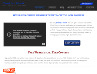 onlineeasywebsite.com screenshot