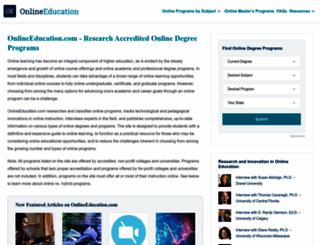 onlineeducation.com screenshot