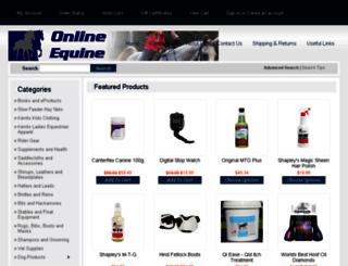 onlineequine.com.au screenshot