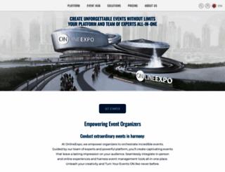 onlineexpo.com screenshot