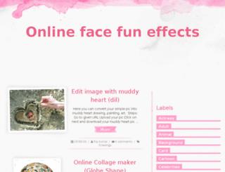 onlinefacefun.com screenshot