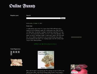 onlinefunny24.blogspot.com screenshot