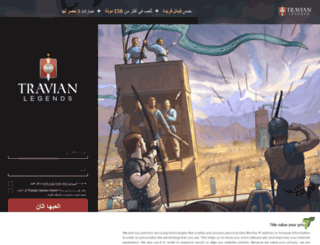 onlinegame.travian.ae screenshot