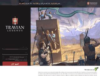 onlinegame.travian.ae screenshot