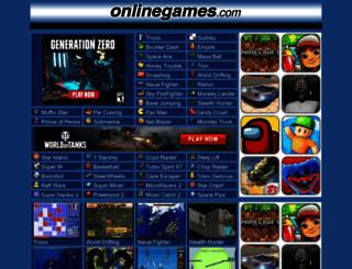 onlinegames.com screenshot