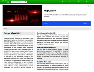 onlinegk.com screenshot