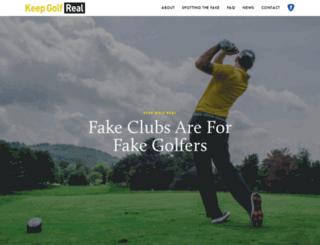 onlinegolfhead.com screenshot