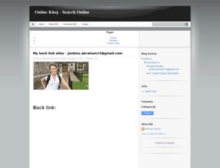 onlinekhoj.blogspot.in screenshot