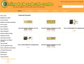 onlinelockandsafecentre.co.uk screenshot