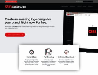 onlinelogomaker.com screenshot