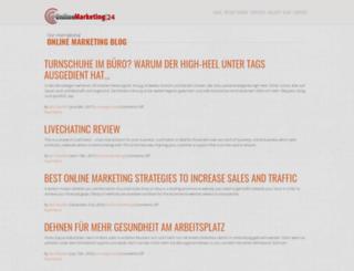 onlinemarketingblog24.com screenshot