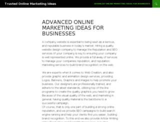 onlinemarketingideas.info screenshot