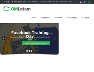 onlinemarketinglatam.com screenshot