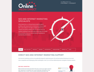 onlinemediadirect.co.uk screenshot