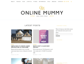 onlinemummy.co.uk screenshot