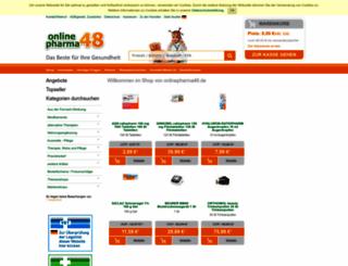 onlinepharma48.de screenshot