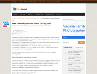 onlinephotoshop.net screenshot