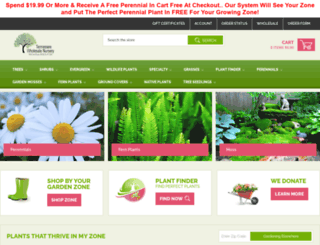 onlineplantnursery.com screenshot