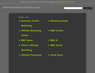 onlinerebelmarketing.com screenshot
