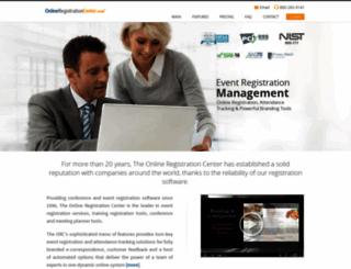 onlineregistrationcenter.com screenshot