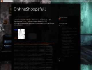 onlineshoopsfull.blogspot.de screenshot