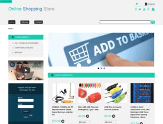 onlineshoppingstore.us screenshot
