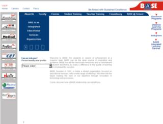 onlinesolutions.base-edu.in screenshot