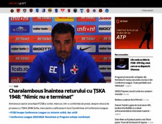 onlinesport.ro screenshot