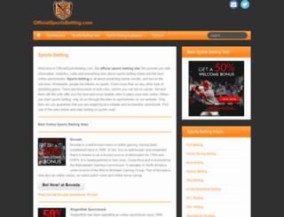 onlinesportgames.net screenshot