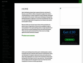 onlinesportsbetting.onreview.info screenshot