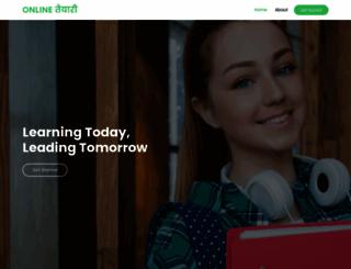 onlinetaiyari.com screenshot