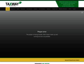 onlinetaxwayindia.com screenshot