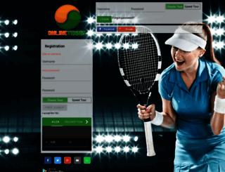 onlinetennis.net screenshot