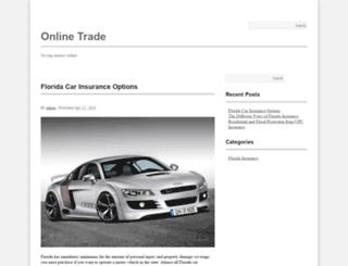 onlinetrade.tv screenshot