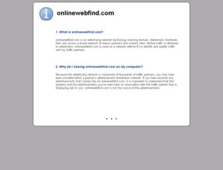 onlinewebfind.com screenshot