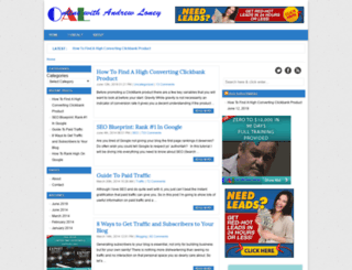onlinewithandrewloney.com screenshot