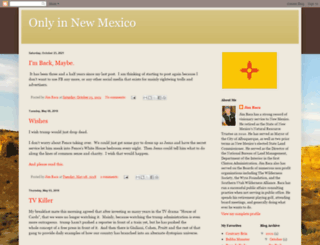 onlyinnewmexico.blogspot.com screenshot