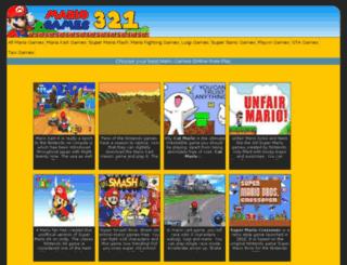 onlymariogames.com screenshot