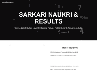 onlysarkarinaukri.com screenshot