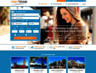 onlytrain.com screenshot