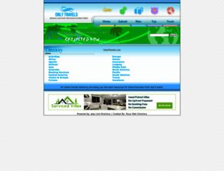 onlytravels.com screenshot