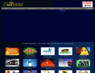onlyyoucansaveenergy.org screenshot