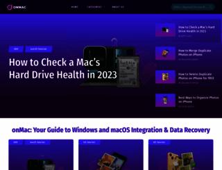 onmac.net screenshot